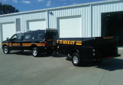Franklin County Sheriff's Office's Reeves ICP Trailer.
