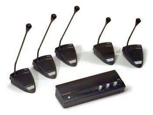 DC2E microphone systems