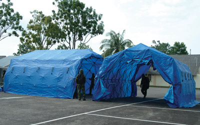 Rapidly Deployable Responder Series Tents