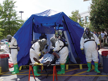 Reeves Hospital Response Decontamination Systems
